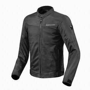 Rev'it Luftige Motorrad Sommer Textiljacke Eclipse mit Knox® Lite CE-Protektoren