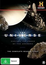 The Universe : Season 3 (DVD, 2011, 4-Disc Set)