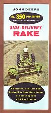 John Deere Brochure    Side Delivery Rake       1959?