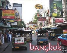Thailand - BANGKOK - Tuk Tuk 2 - Travel Souvenir Magnet