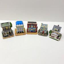 Liberty Falls Lot Of 5 Town Buildings, Ah190, 206, 207, 208 & 990