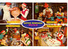 Candy-Toys-Elf-Santa's Workshop-North Pole-New York-Vintage Deltiology Postcard