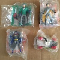 McDonalds Batman the animated series happy meal toy lot 4 action figures sealed