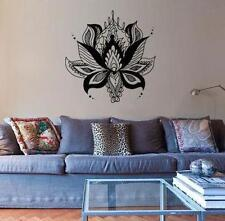 "Ornate Lotus Boho Bohemian Wall Decal Sticker LARGE 21.5""w x 21""h"