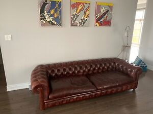 Italian Couch Poltrona Frau (CHESTERFIELD) Couch
