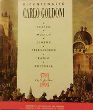 Ugo Ronfani (a cura di) Annuario Goldoniano - Bicentenario Carlo Goldoni