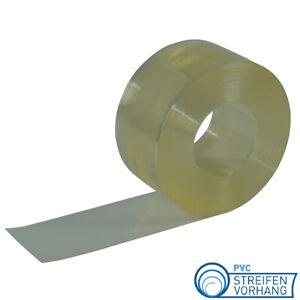 PVC Streifenvorhang PVC Lamellen glasklar Meterware als Zuschnitt