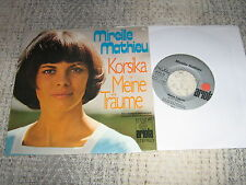 MIREILLE MATHIEU 45 TOURS GERMANY KORSICA