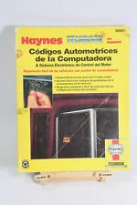 Códigos Automotrices de la Computadora Libro Española Manual De Servicio