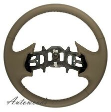 Med Dk Parchment 2000-2003  F150 F250 F350 Leather Steering Wheel - NEW!