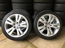 "(2007-2014) 17"" GENUINE OEM MERCEDES BENZ C-CLASS W204 WHEELS & 95% 225/45R17 B"