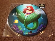 DISNEY THE LITTLE MERMAID STUNNING NEW PICTURE DISC UNPLAYED MINT