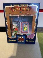 💾 Commodore/Amiga  KINGS QUEST II ROMANCING THE THRONE  VGC *VERY RARE*