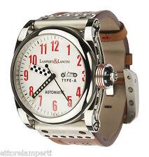 orologio LAMPERTI & LANCINI Type A ispirato all' AUTO UNION anni'30 ETA 2824/2
