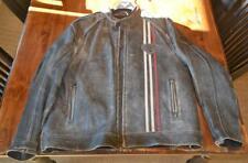 Triumph motorcycle, Raven jacket, Men's 3xl/xxxl, Exe Cond., distressed leather