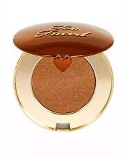 Too Faced Chocolate Gold Soleil Long Wear Gilded Bronzer Luminous 2.8g NIB