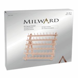 Milward Spool Holder: 60 Spools: Beech Wood