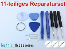 11-teiliges Reparatur Werkzeug Set / Repair Kit iphone 4 4s 5 5s 5c