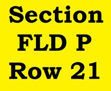 2 FIELD Tickets Garth Brooks Allegiant Stadium Las Vegas NV Saturday August 22nd