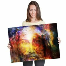 A1 - Amazing Watercolour Jesus Awesome Poster 60X90cm180gsm Print #8451