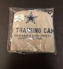 Vintage Champion Dallas Cowboys Training Camp 90's Gray Tshirt NWT DEADSTOCK N35