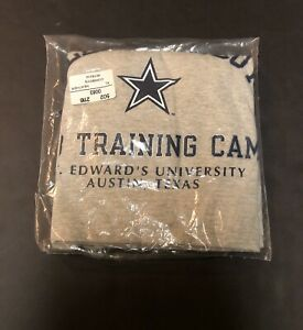 Vintage Champion Dallas Cowboys Training Camp 90's Gray Tshirt NWT DEADSTOCK N35