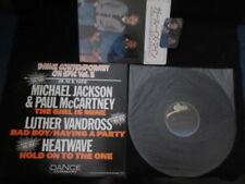 VA Michael Jackson Paul McCartney Adam Ant Japan Promo Vinyl LP w Promo Pad