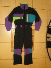 Vtg Mens CORNICE Winter Insulated Snowmobile Snow Ski One Piece Suit Coveralls S