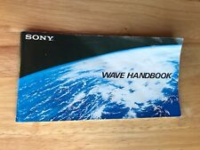 Sony Wave Handbook, Short Wave Stations of the World, 1981, 120 pages