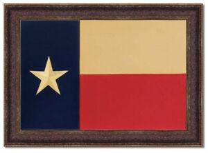 Framed Texas Lone Star Flag  42'' x 30''