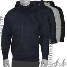 Sudadera con capucha de hombre en color principal negro de poliéster