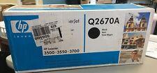 NEW HP Q2670A  BLACK Toner Cartridge 309A Genuine Factory Sealed