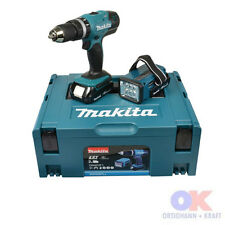 Makita 18 V Akku Schlagbohrschrauber Akkuschrauber DHP453RYLJ inkl Arbeitslampe