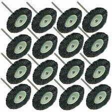 RT- 53C ;16PC Steel Wire Wheel Brushes for Accessories For Rotary Tools