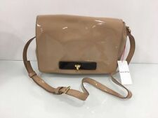 Flap Leather Outer Patternless Shoulder Bags