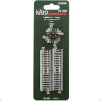 Kato 20-320 Intersection / Crossing Track 124mm 90° - N