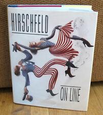 SIGNED Al Hirschfeld On Line Drawings Paintings Photographs Essays 1st HC DJ