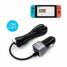 Nintendo Switch Car Charger 5V 2.4A With Extra USB Port Model P-388 By Pegly
