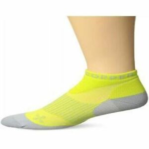 Tommie Copper Women Yellow and Grey Compression Socks