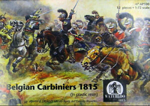 Waterloo 1815 1/72 Belgian Carabiniers 1815 - metal figures # AP100