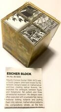 M.C. Escher Block Cube Type 3D Desktop Art Puzzle