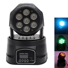 Hot 105W 7-RGBW 4in1 LED Mini DMX512 Stage Ligthing Moving Head Party lights