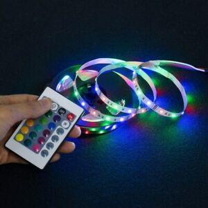 LED Strip Light USB 2835SMD DC5V Flexible LED Lamp Tape Ribbon RGB (1/2/3/4/5)m