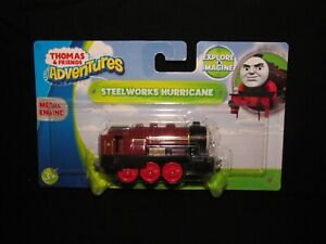 THOMAS & FRIENDS ADVENTURES STEELWORKS HURRICANE METAL ENGINE NEW