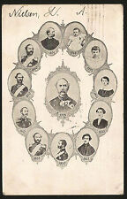 1906 KING CHRISTIAN IX OF DENMARK VINTAGE POSTCARD MAILED TO SLC UTAH, USA RARE