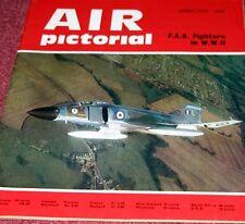 Air Pictorial 1971 April Upper Heyford F-111 20TH TFW,Fleet Air Arm,Concorde