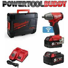Milwaukee M18ONEIWF12-502X 18v 2x5.0Ah Li-ion One Key 1/2In Impact Wrench BAY40