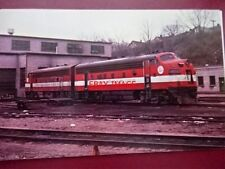 POSTCARD USA LOCOMOTIVE - MINNEAPOLIS & ST LOUIS UNIT NO 411 & 417 F-7 DIESEL UN