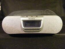 Sony Dream Machine Icf-Cd830 Clock Radio Am/Fm/Cd Works Great