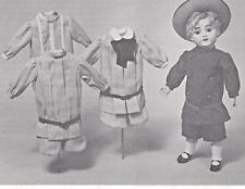 "16""ANTIQUE KESTNER BOY/BUSTER BROWN DOLL@1902-10 SUIT w/VARIATION HAT PATTERN"
